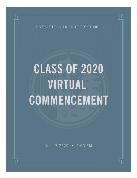 Commencement Program pg 1
