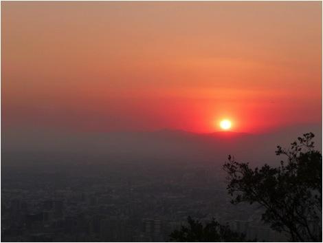 Chile Sunset