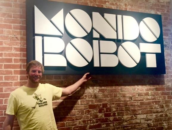 Scott at Mondo Robot