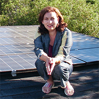 Maryline Daviaud-Lewett Solar Panels