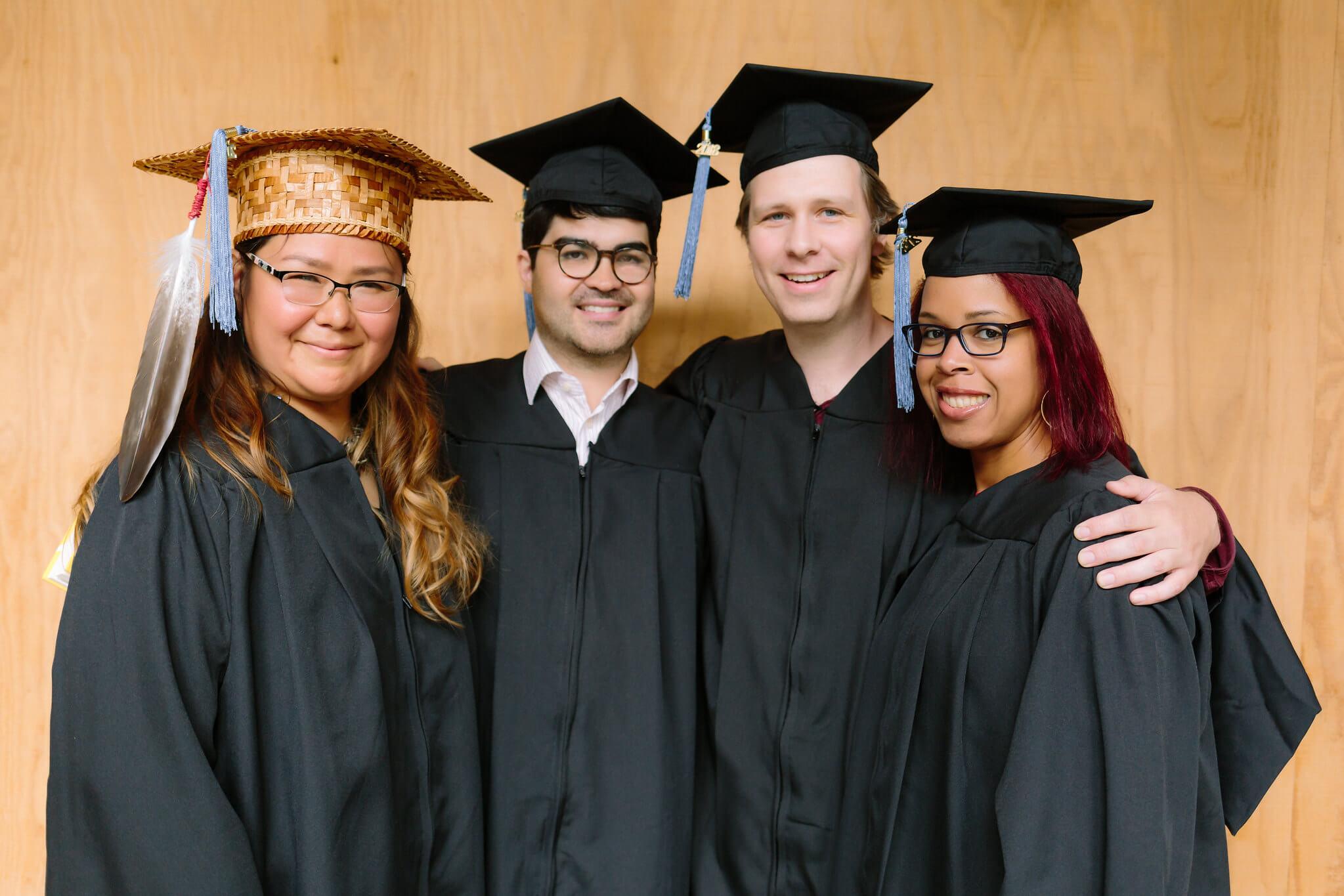 Presidio students at graduation
